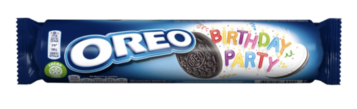 Oreo Birthday Party täytekeksi  3 x 154 g